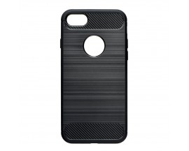 Husa iPhone 7 FORCELL Carbon Black Anti-shock