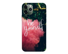 Husa Premium Upzz Print iPhone 11 Pro Max Model Be Yourself