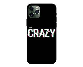Husa Premium Upzz Print iPhone 11 Pro Max Model Crazy