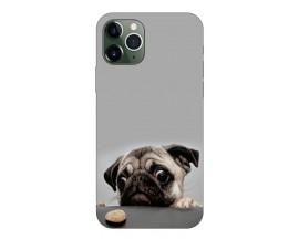 Husa Premium Upzz Print iPhone 11 Pro Max Model Dog