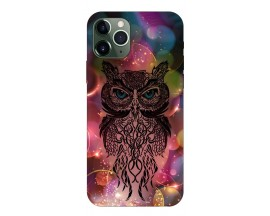 Husa Premium Upzz Print iPhone 11 Pro Max Model Sparkle Owl