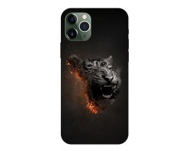 Husa Premium Upzz Print iPhone 11 Pro Max Model Tiger