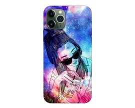 Husa Premium Upzz Print iPhone 11 Pro Max Model Universe Girl