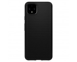 Husa Premium Originala Spigen Liquid Air Google Pixel 4 XL Negru Silicon