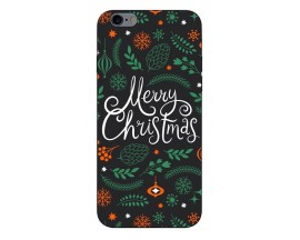 Husa Slim Silicon Upzz X-Mass Print iPhone 6/6S Model Christmas 1