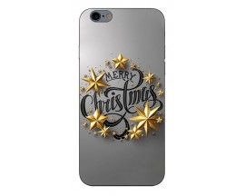 Husa Slim Silicon Upzz X-Mass Print iPhone 6/6S Model Christmas 2