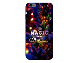 Husa Slim Silicon Upzz X-Mass Print iPhone 6/6S Model Magic
