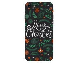 Husa Slim Silicon Upzz X-Mass Print iPhone 7/8 Model Christmas 1