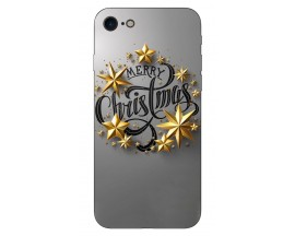 Husa Slim Silicon Upzz X-Mass Print iPhone 7/8 Model Christmas 2