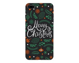 Husa Slim Silicon Upzz X-Mass Print iPhone 7 Plus /8 Plus Model Christmas
