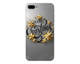 Husa Slim Silicon Upzz X-Mass Print iPhone 7 Plus /8 Plus Model Christmas 2