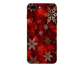 Husa Slim Silicon Upzz X-Mass Print iPhone 7 Plus /8 Plus Model Fulgi 1