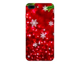 Husa Slim Silicon Upzz X-Mass Print iPhone 7 Plus /8 Plus Model Fulgi 3