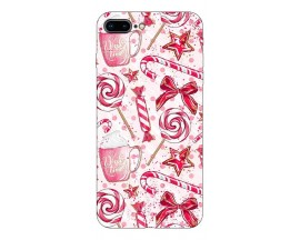 Husa Slim Silicon Upzz X-Mass Print iPhone 7 Plus /8 Plus Model Sweet