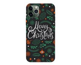 Husa Slim Silicon Upzz X-Mass Print iPhone 11 Pro Model Christmas 1