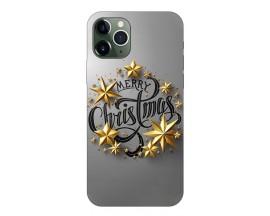 Husa Slim Silicon Upzz X-Mass Print iPhone 11 Pro Model Christmas 2