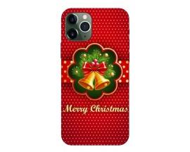 Husa Slim Silicon Upzz X-Mass Print iPhone 11 Pro Model Clopotei 2