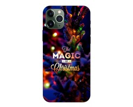 Husa Slim Silicon Upzz X-Mass Print iPhone 11 Pro Model Magic