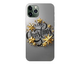 Husa Slim Silicon Upzz X-mass Print iPhone 11 Pro Max Model Christmas 2