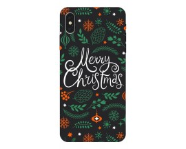 Husa Slim Silicon Upzz X-Mass Print iPhone XS Max Model Christmas 1