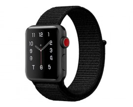 Curea Apple Watch Upzz Nailon Sport 42/44mm ,Negru