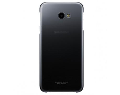 Husa Plastic Samsung J4 Plus (2018) J415, Gradation Cover, Neagra, Blister EF-AJ415CBEGWW