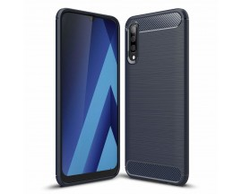 Husa Spate Forcell Carbon Pro Samsung Galaxy A50 Dark Blue