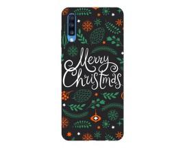 Husa Slim Silicon Upzz X-Mass Print Samsung Galaxy A70 Model Christmas 1