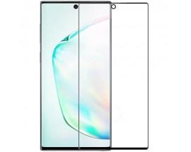 Folie Sticla Mr. Monkey Hot Bending pentru Samsung Galaxy Note 10, 3D, 9H, 0.33 mm, Full cover (acopera tot ecranul), Negru