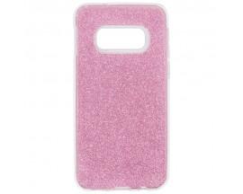 Husa Spate Upzz Shiny Lux Samsung Galaxy S10e Roz