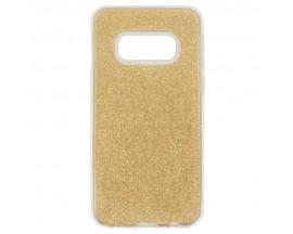 Husa Spate Upzz Shiny Lux Samsung Galaxy S10e Gold