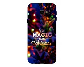 Husa Silicon Soft Upzz X-Mass Samsung J4+2018 Model Magic