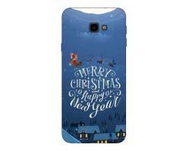 Husa Silicon Soft Upzz X-Mass Samsung J4+2018 Model Santa2