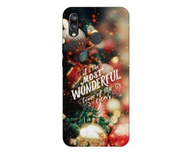 Husa Silicon Soft Upzz X-Mass Huawei P20 Lite Model Wonderful