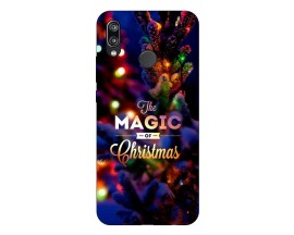 Husa Silicon Soft Upzz X-Mass Huawei P20 Lite Model magic
