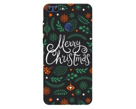 Husa Silicon Soft Upzz Print X-Mass Huawei P Smart 2018 Model Christmas1
