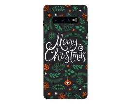 Husa Silicon Soft Upzz Print X-Mass Samsung S10+ Plus Model Christmas 1