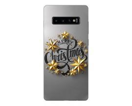Husa Silicon Soft Upzz Print X-Mass Samsung S10+ Plus Model Christmas1