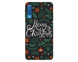 Husa Silicon Soft Upzz Print X-mass Samsung A7 Model Christmas1