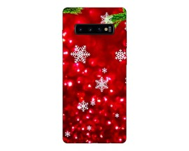 Husa Silicon Soft Upzz Print X-Mass Samsung S10+ Plus Model Fulgi2