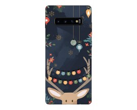 Husa Silicon Soft Upzz Print X-Mass Samsung S10+ Plus Model Magic