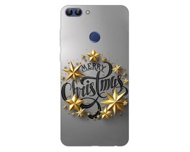 Husa Silicon Soft Upzz Print X-Mass Huawei P Smart 2018 Model Christmas2