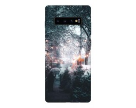 Husa Silicon Soft Upzz Print X-Mass Samsung S10+ Plus Model Sweet