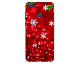 Husa Silicon Soft Upzz Print X-Mass Huawei P Smart 2018 Model Fulgi3