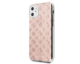 Husa Premium Guess Glitter iPhone 11 Rose Gold Silicon GUHCN61TPERG