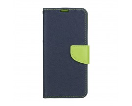 Husa Flip Carte Upzz Fancy Book Huawei P Smart Z Albastru Verde