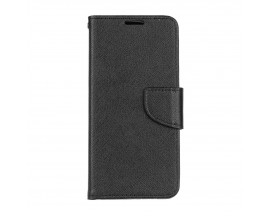 Husa Flip Carte Upzz Fancy Book Huawei P Smart Z Negru