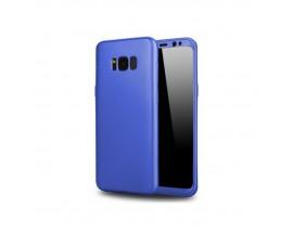 Husa Protectie Silicon 360 Grade Upzz Samsung S8 Plus Albastru