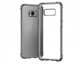 Husa Anti-shock Tpu Silicon Crystal Clear Upzz Samsung S8 Fumurie