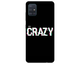 Husa Silicon Soft Upzz Print Samsung Galaxy A51 Model Crazy